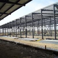 China Low Cost Pre-fabricated Steel Structure Workshop In Sudan wholesale