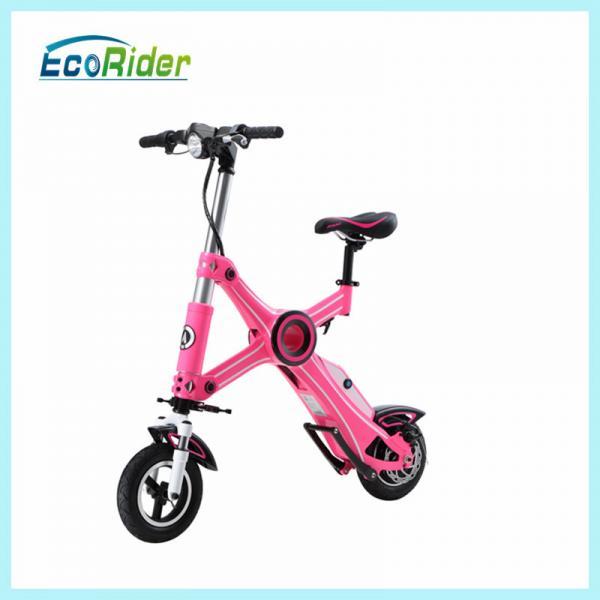 Mini Portable Folding Motor Scooter Pink Folding Travel