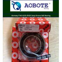 Quality Angular Contact FAG Roller Bearings 6210 2RSR High Speed High Precision for sale