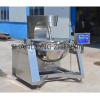 Quality Tilting Stainless Steel Steam Jacketed Kettle with Mixer for sale