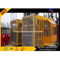 China 2*2000Kg Load Construction Hoist Elevator 50m Height  For Projects wholesale
