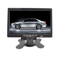 China 24V Wide Angle Desktop TFT Video Car LCD Monitor With Touch Button wholesale