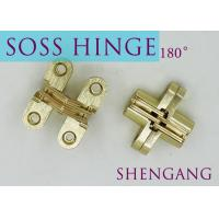 """China SOSS Mortise Mount Invisible Concealed Door Hinges With 4 Holes 2-3/4"""" Leaf Height 5/8"""" Leaf Width 23/32"""" wholesale"""