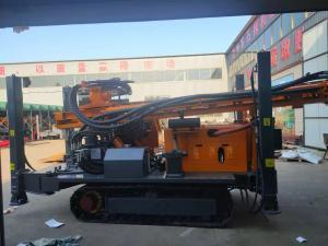 China Hard Rock Mining Blasting Hole 260m Drilling Borewell Machine wholesale