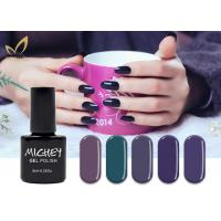 Quality Long Lasting UV LED Gel Nail Polish , 300 Colors UV Gel Polish Soak Off Polish for sale