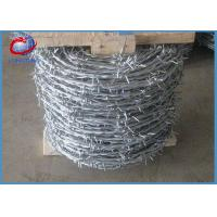 China 12 *14 Hot Dipped Weight coiled Barbed Wire Diameter 1.25mm - 3.5mm wholesale