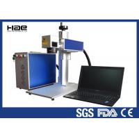 China High Precision Handy Fiber Laser Marking Machine 10w - 50w With Rotary Axis 3D wholesale