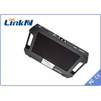 Wholesale Battery Powered 4 Hours Outdoor Handheld COFDM Receiver -106dbm Receiving Sensitivity from china suppliers