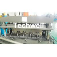 China 0.8-1.5mm Thickness Galvanized Steel Building Material High Speed Profile Deck Floor Cold Roll Forming Machine wholesale