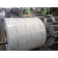 China pvdf coated aluminum plate / sheet with pvc film one side thickness 25um - 28um wholesale