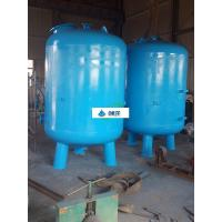 China Industrial Water Treatment Equipment Silica Sand Water Filter ISO 9001 Approval wholesale