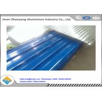 China Environmental Protection Painted Corrugated Aluminum Sheet H14 H24 H18 H112 wholesale