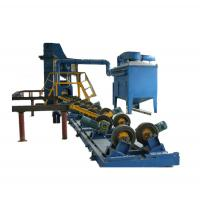 China 48mm-1400mm Steel Pipe Series Shot Blasting Cleaning Machine for Outside wholesale