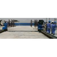 China Plasma Metal Cutting Machine , Industrial Cnc Pipe Cutting Machine wholesale
