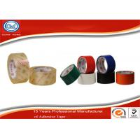 China Custom Multiple Colored Packaging Tape / Sealing Adhesive Tape wholesale