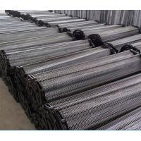 China Wire Mesh Chain Food Conveyor Belt Argon Welding Strong Tension ISO9001 wholesale