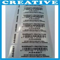 China seal void security label wholesale