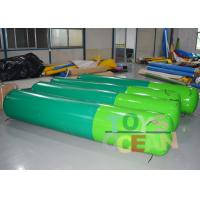 China Custom Inflatable Paintball Bunkers Airsoft Paintball Bunkers 0.6mm PVC Vinyl wholesale