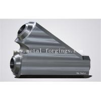 Quality Forged Big Steel Tee F53 F51F316 F304 Rough Machined Customized open die forge for sale