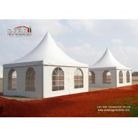 China Display Gazebo 6X6 Canopy Tent , Enclosed Canopy Tent For High Wind wholesale