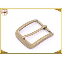 China Custom Design Various Size Zinc Alloy Metal Pin Belt Buckle For Men wholesale