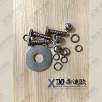 China Hastelloy N10665(B2) N10276(C276) C22 G3 hardware fasteners stainless steel hex bolts and nuts wholesale