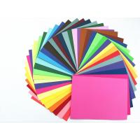 China Colored Paper Packaging Materials 100% Wood Pulp Smooth Surface Folding Resistance wholesale