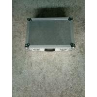 Quality 9mm Plywood And 1mm Thickness Aluminum Tool Cases 50*50*25cm Silver Color No for sale