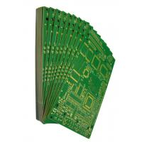China Rigid Printed Circuit  Boards FR4 Material Green Solder Mask Surface Finishing Immersion Gold White Silkscreen wholesale