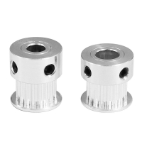 China Aluminum 18 Tooth 2GT 18 3D Printer Timing Pulley Synchronous Wheel wholesale