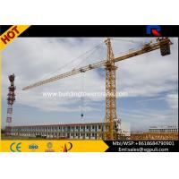 Quality 1.0T Tip Load Topkit Hammerhead Tower Crane 4 Tons Max Height 120M for sale