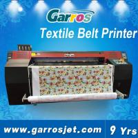 China 1.8m Digital Textile Belt Printer for All Fabrics Like Elastic and Non-stretchable Cotton wholesale