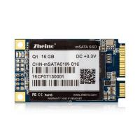 MLC Flash mSATA SSD 16GB 240GB SMI2246XT 35 MB/s Write Q1 3.3V Input