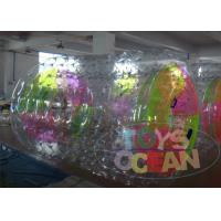 China Colorful Inflatable Hamster Ball For Humans / Inflatable Water Walking Ball wholesale