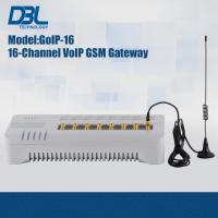 China SMS Server VoIP GSM Gateway GoIP-16 For Call Termination , SIP & H.323 on sale