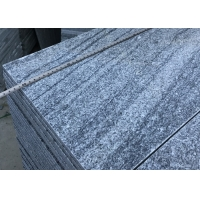 China Flamed G302 Negro Santiago Grey Granite Step Treads on sale