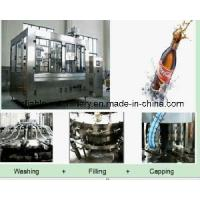 China 3 in 1 Aseptic Fully Automatic Beverage Bottle Line (CGFD) wholesale