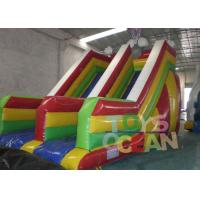 China Outdoor Giant Inflatable Slides Rabbit Shape Inflatable Dry Slide UV Protective wholesale