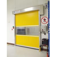 Wholesale Automatic Industrial High Speed Shutter Door , 1.2mm PVC Curtain Thickness from china suppliers
