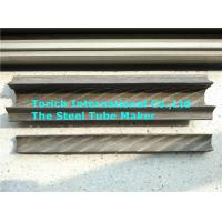 China Painted Rifle Seamless Carbon Steel Pipe With Fin On Two Sides wholesale
