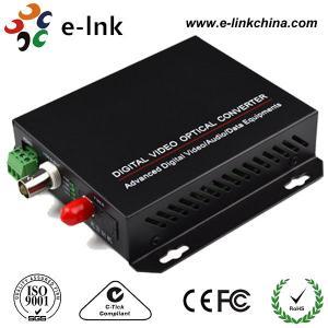 China 1-ch video, 20km, Single Mode Fiber CCTV Fiber Optic Converter wholesale
