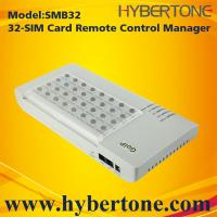 Buy cheap 32 Ports GSM SIM Bank Quand band Remote SIM BANK SMB32 from wholesalers