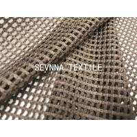 China Activewear Power Mesh Fabric Jacquard Warp Knit Textured Double Face on sale