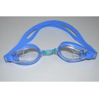 China 2013 professional waterproof one-piece cheap swimming goggles wholesale