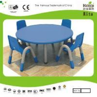 China Plastic Kids Round Table and Chair (KQ10183C) wholesale