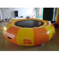 China Inflatable Water games / inflatable water Trampoline air tight pvc tarpaulin wholesale