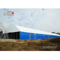 China 2000 Square Meters Metal Frame Steel Panel Permanent Industrial Storage Tents Structure Instant Set Up wholesale