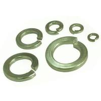 China Din 7980 M6 Stainless Spring Washer , S304 Flat Lock Washer Plain Color on sale