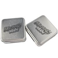 China Silver Gift Tins,Tin Jars For Chocolate Packaging, Food Tin, Sweet Tin wholesale