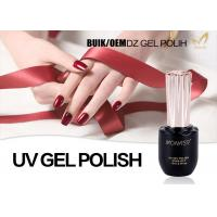 Salon Quality Shellac Gel Nail Polish , Chemical Free Gel Nail Polish For Girls